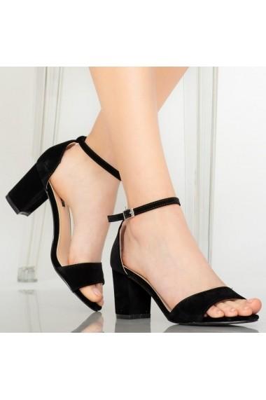 Sandale dama Jones negre