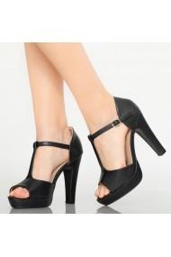 Sandale dama Lyle negre