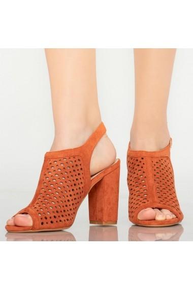 Sandale dama Yara portocalii