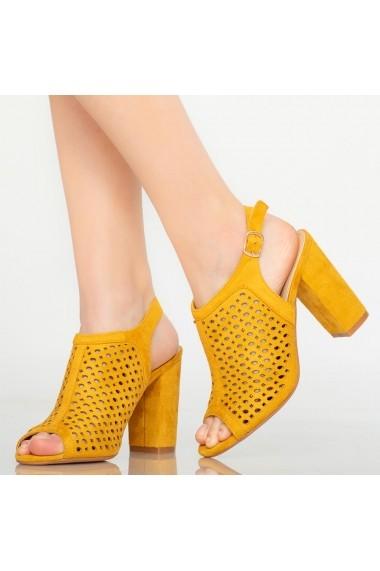 Sandale dama Yara galbene