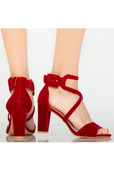 Sandale dama Chara rosii