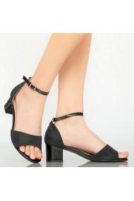 Sandale dama Comet negre