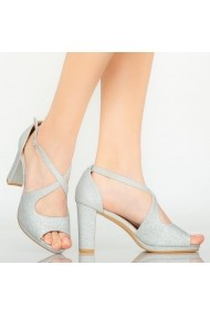 Sandale dama Elio argintii