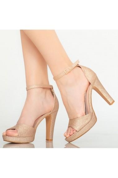 Sandale dama Hoku roze