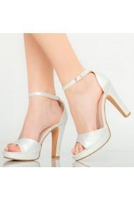 Sandale dama Faye argintii