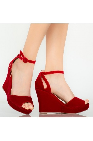 Platforme dama Alfa rosii