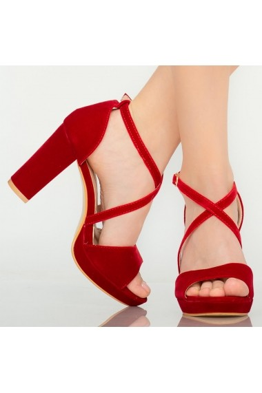Sandale dama Mive rosii