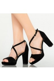 Sandale dama Mive negre