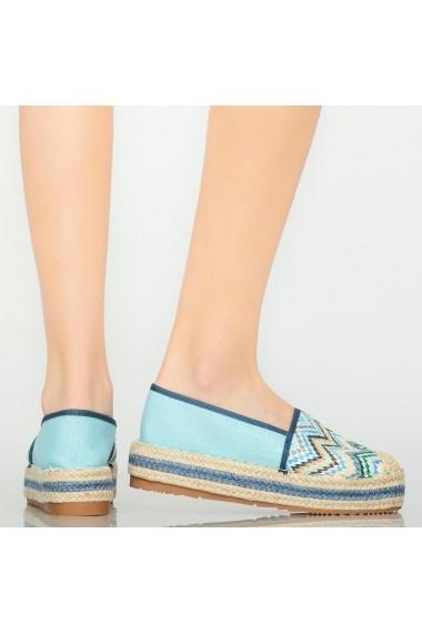 Espadrile casual Mony albastrii