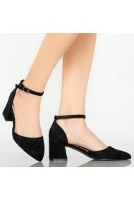 Pantofi dama Medi negri