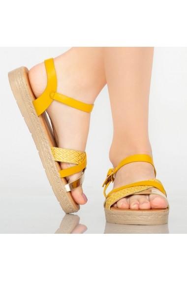 Sandale dama Berra aurii