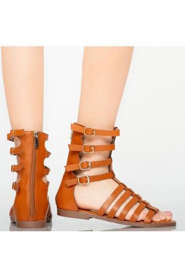 Sandale dama Rofa maro