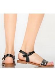 Sandale dama Ampa negre