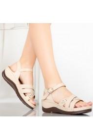 Sandale dama Opy bej