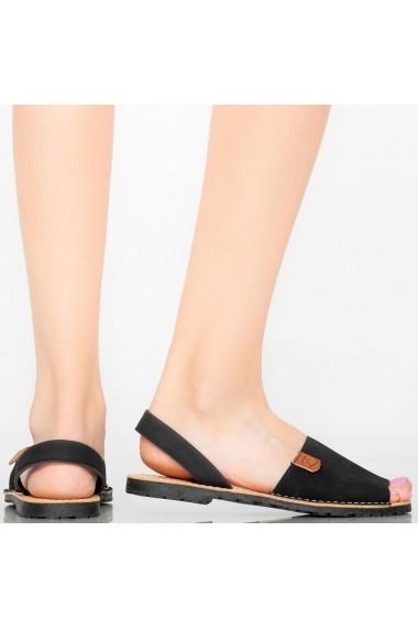 Sandale dama Elep negre