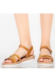 Sandale dama Reli camel