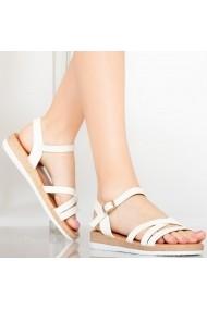 Sandale dama Reli albe