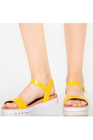 Sandale dama Isba galbene