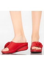 Papuci dama Ela rosii