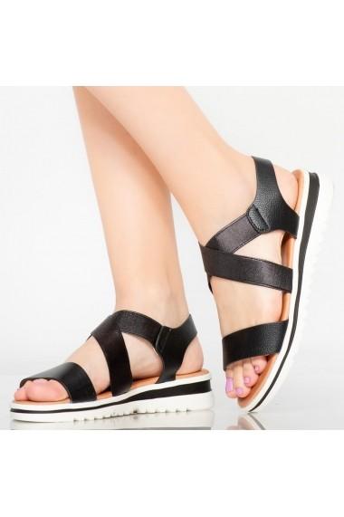 Sandale dama Seu negre