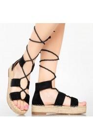 Sandale dama Del negru