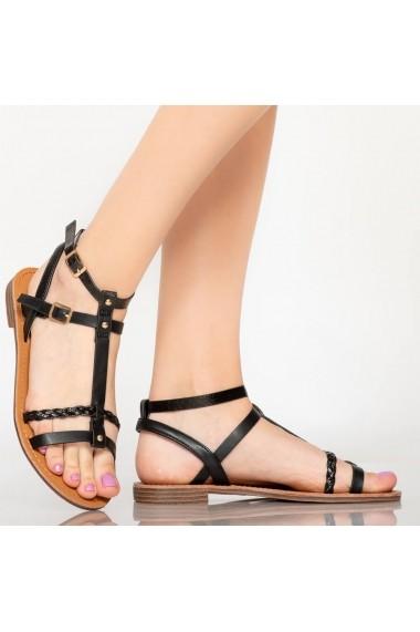 Sandale dama Dante negre