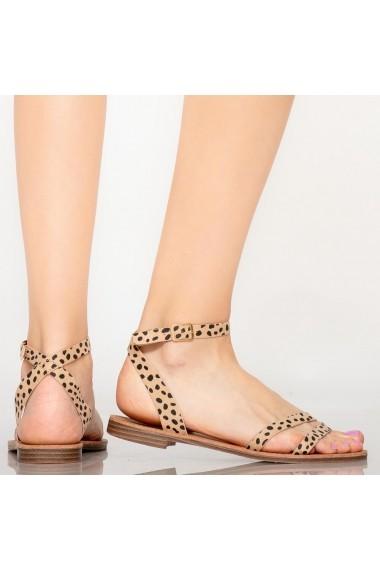 Sandale dama Sou bej
