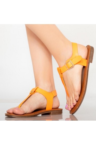 Sandale dama Nole portocalii