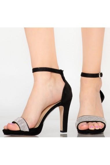 Sandale dama Edu negre
