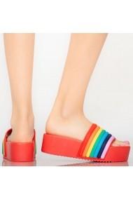 Papuci dama Elci rosii