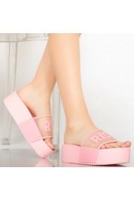 Papuci dama Rich roz