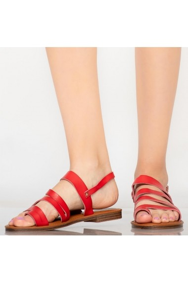 Sandale dama Tily rosii