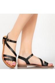 Sandale dama Rika negre