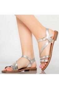 Sandale dama Rika argintii