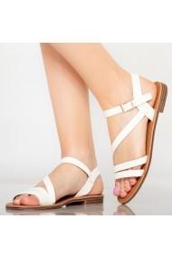 Sandale dama Rika alb