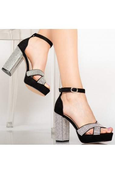 Sandale dama Sofa negre
