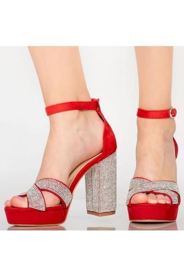 Sandale dama Sofa rosii