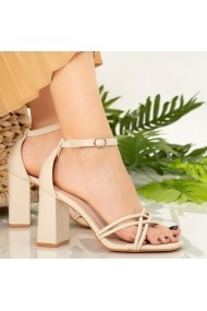 Sandale dama Dalas bej
