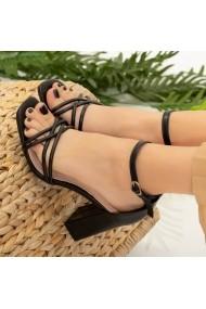 Sandale dama Dalas negre