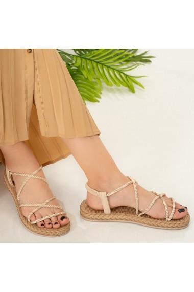 Sandale dama Nalida bej