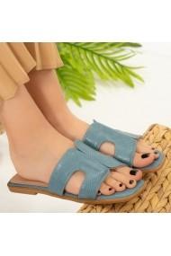 Papuci dama Salit albastrii
