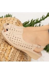 Sandale dama Aluk bej