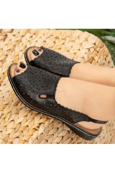 Sandale dama Mife negre