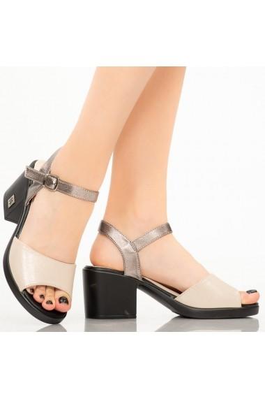 Sandale dama Ales bej