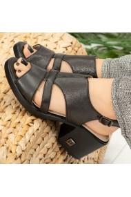 Sandale dama Peg negre
