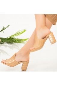Papuci dama Tuga bej