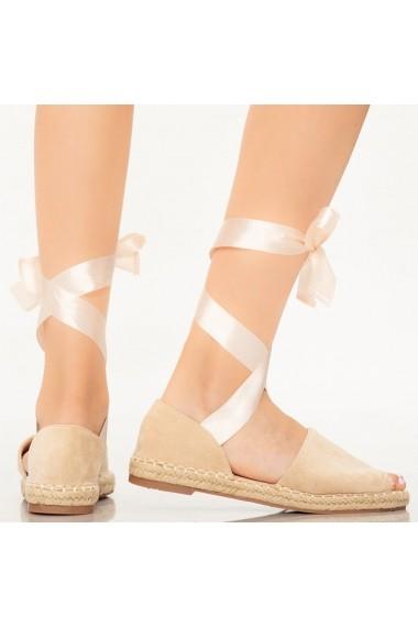 Sandale dama Pos bej
