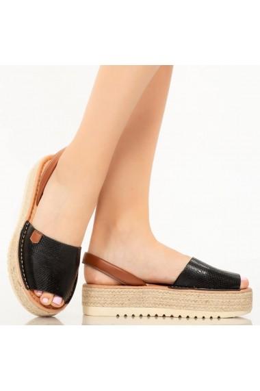 Sandale dama Poki negre