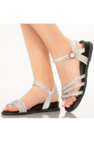 Sandale dama Eira argintii