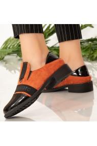 Pantofi dama Boy portocalii
